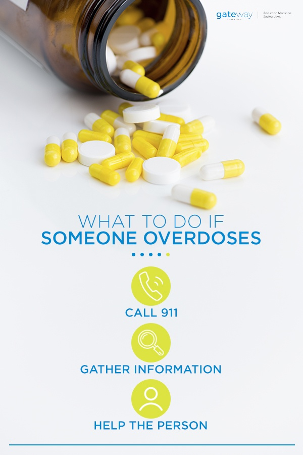 what to do if someone overdoses