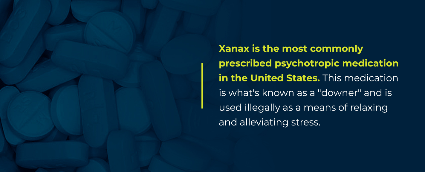 xanax abuse in college