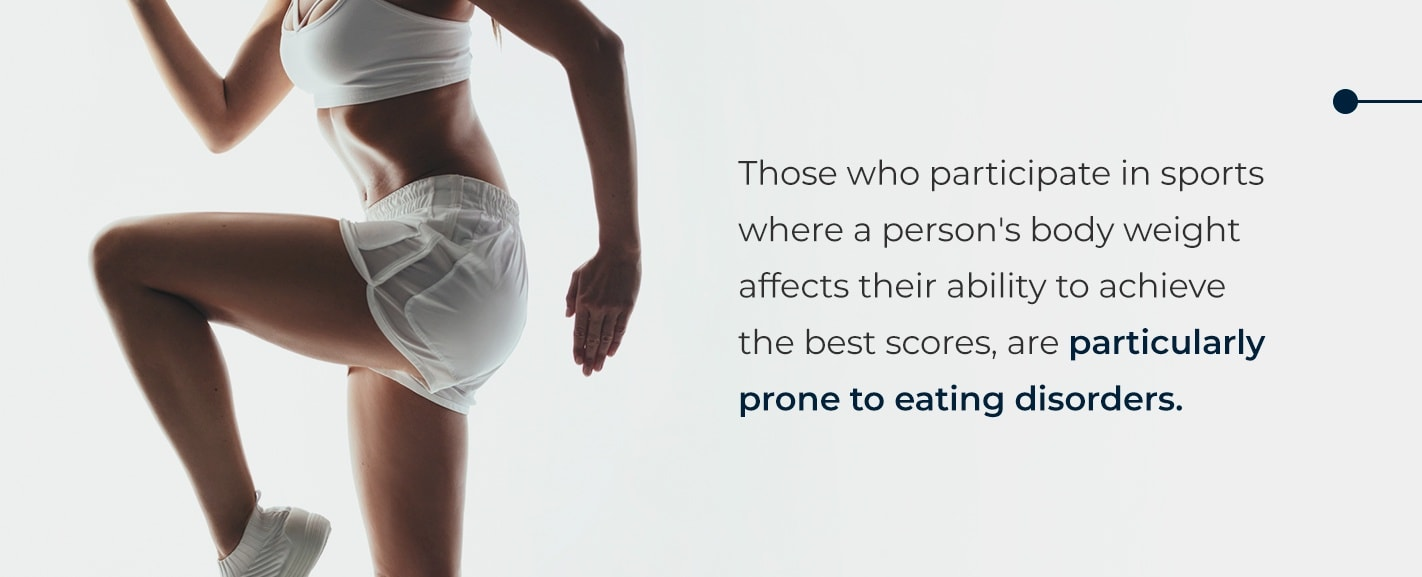 athlete eating disorders substance abuse