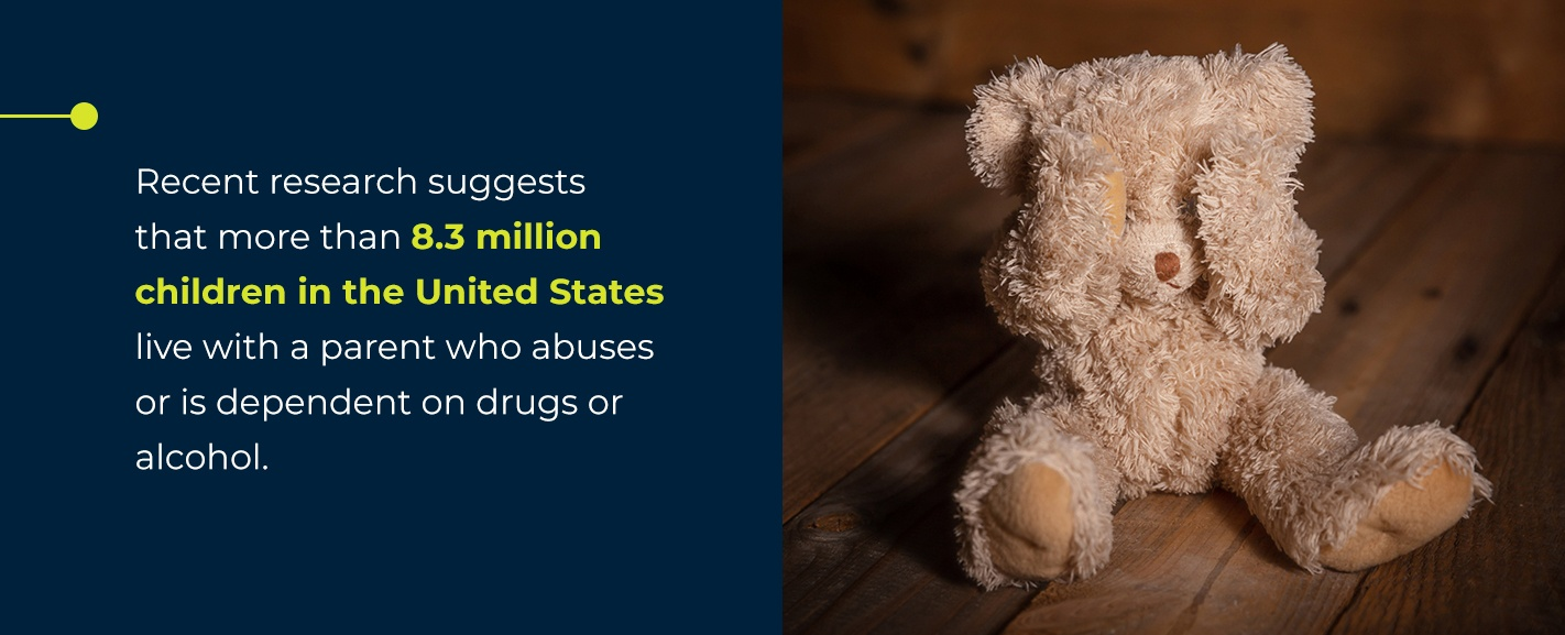 how substance abuse fuels violence and impacts children