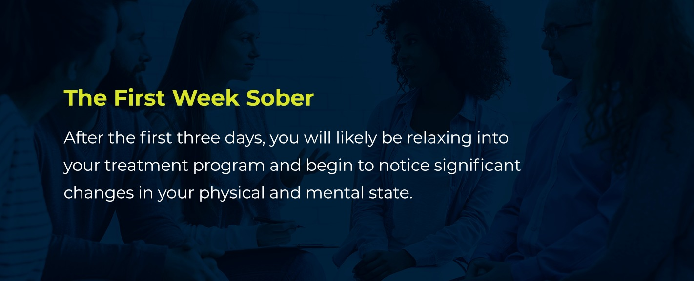 the first week sober