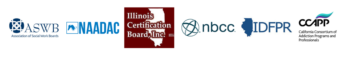 Certification and association logos