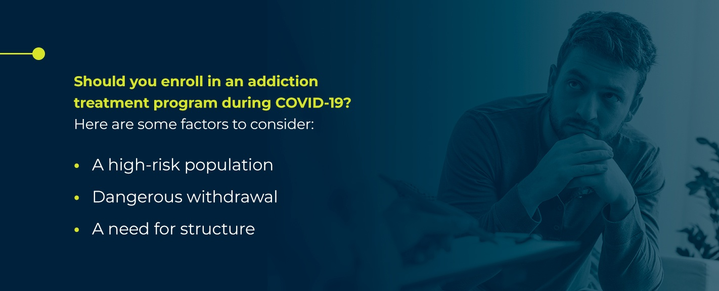why addiction treatment is essential during coronavirus