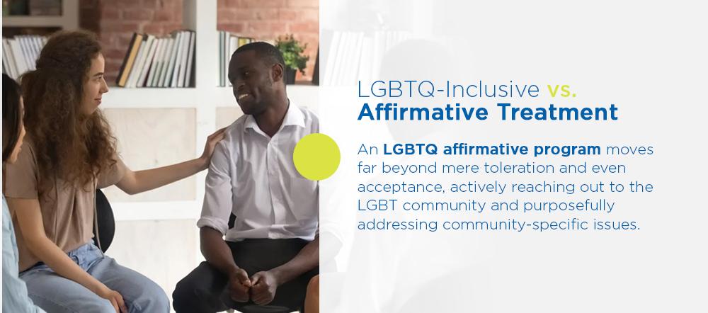 lgbtq inclusive affirmative treatment