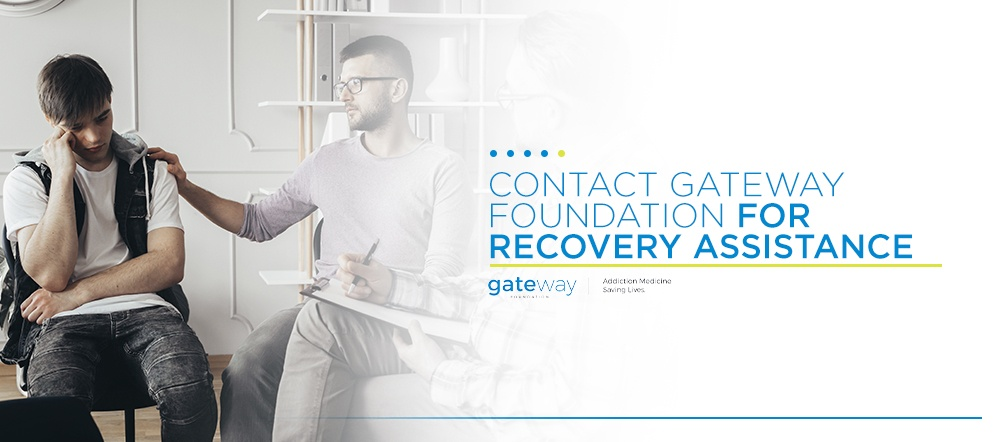 Contact Gateway Foundation for Recovery Assistance