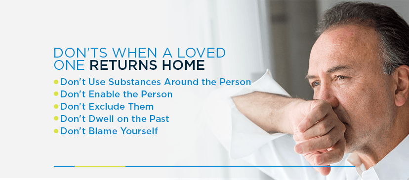 Do's When a Loved One Returns Home After Rehab