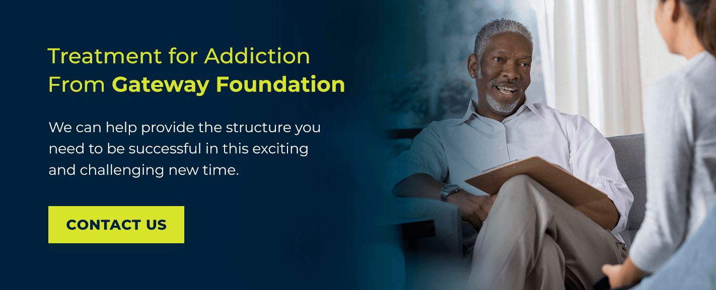 Treatment for Addiction From Gateway Foundation