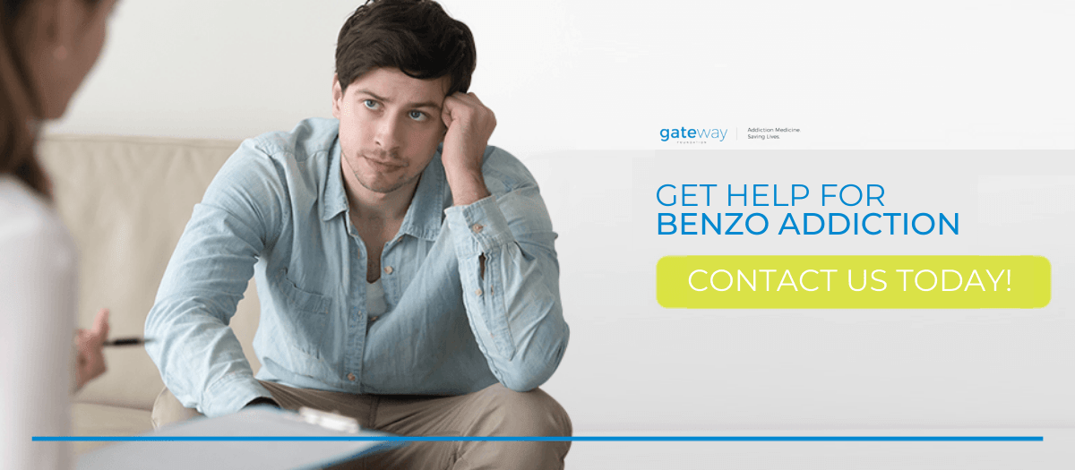 help for benzo addiction